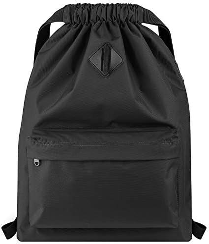 Vorspack Drawstring Backpack Water Resistant String Bag Cinch Bag Sports Gym Sack with Side product image