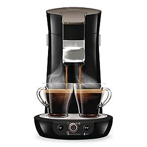 Philips HD6564/61 Kaffeepadmaschine Senseo Viva Café Duo Select schwarz glitzernd