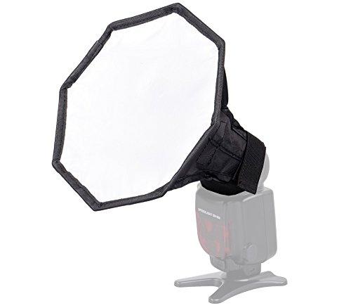 Khalia-Foto LS-08 Oktagon Softbox für Systemblitze, Durchmesser 20 cm