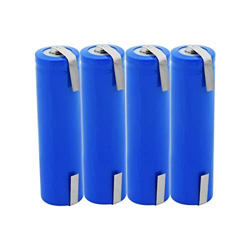 MeGgyc 2800mAh Li-ion Baterías de Litio Para Control Remoto Mini Ventilador de la Cámara de Juguete 3.7V Batería 4pcs