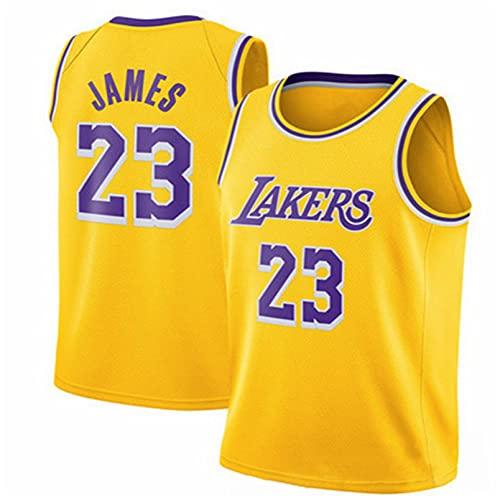 TINKOU Camiseta Hombre, Camiseta Baloncesto para Hombre Moda # 23 NBA La...