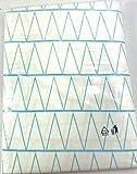 Meradiso Juego de Funda de edredon con Almohada de Algodon Color Blanco/Azul/Amarillo Medidas 140x200cm y 70x90cm