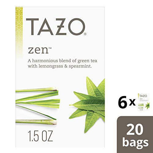 Tazo Zen Green Tea Bags for an invigorating cup of green tea Zen Tea helps you...