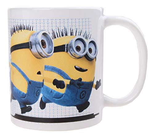 BETA SERVICE Minions Chaos [330 ml] Taza de café, carbón, 15 x 25 x 12 cm