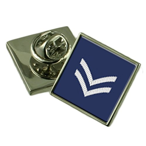 Select Gifts RAF Airforce insegne Rank Caporale Spilla Badge Custodia regalo