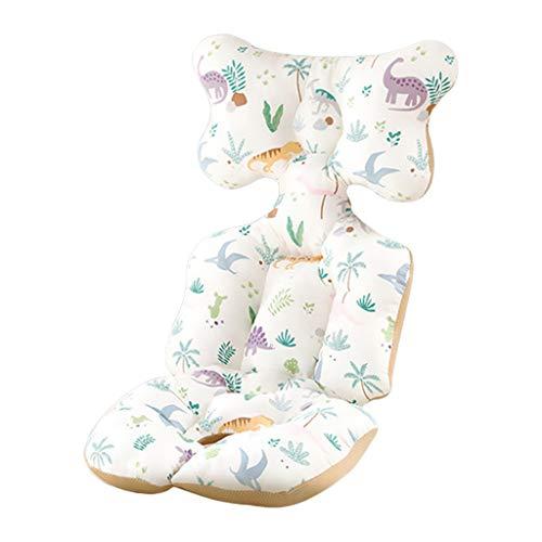 ZZALLLCojín de algodón para Cochecito Colchoneta cálida Almohada para colchón para Dormir Revestimiento para Asiento de Cochecito de bebé - 3#