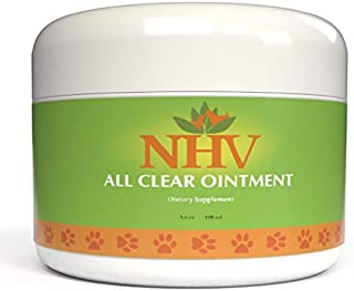NHV All Clear Ointment: Rapid, Natural Relief for Skin Disease, Infections, Hot Spots, Dermatis, Burns and Wounds in Cats and Dogs