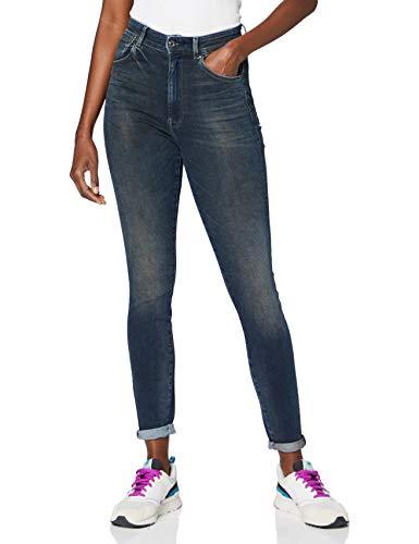 G-STAR RAW Damen Jeans Stringfield Ultra High Waist Skinny, Antic Nebulas C296-B824, 26W / 30L