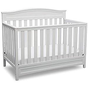 crib bedding and baby bedding delta children emery 4-in-1 convertible baby crib, white