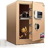NBVCX Caja de Seguridad para Piezas de maquinaria, Caja Fuerte para el hogar, ha Sido aprobada por el Seguro, Cerradura eléctrica, Pantalla Digital, Cajas Fuertes