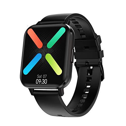ACECYCLE Fitness Tracker Smartwatch con Monitor de frecuencia cardíaca, Monitor de presión Arterial Monitor de sueño recordatorio de Mensajes(DTX)