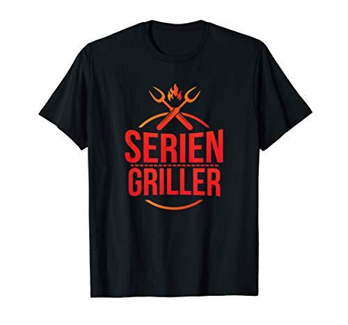 Herren Grill Shirt Seriengriller für Grillfans