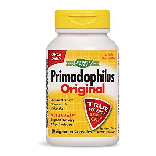 Nature's Way Primadophilus Original, 5 Billion, 180 Capsules