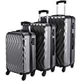 Nasher Miles Lombard 20, 24, 28 Inch ,Set of 3, Hard-Sided, Polycarbonate Luggage