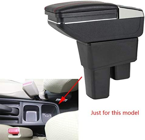 5 ☆ very popular SLONG for Honda Fit Jazz Factory outlet 2008-2012 Cup Armrest R Car with Holder