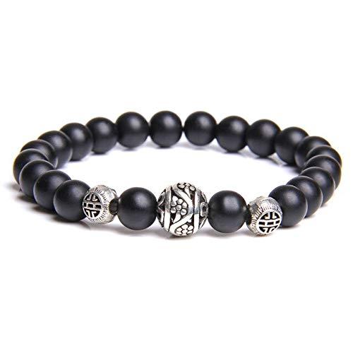 Women White Stone Beads Bracelet White Cat Eye Beads Bracelet Couples Friendship Bracelets