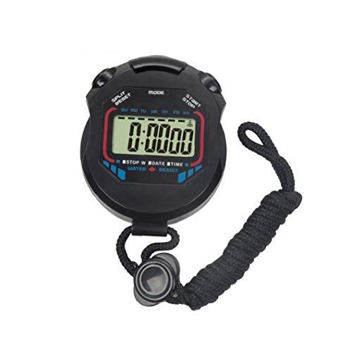Handheld Digital Multi-Funzione Professionale Elettronici Cronografo Sportivo Cronometro Timer Impermeabile Stop Watch