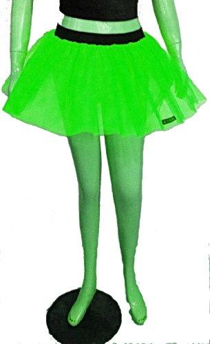 Green Neon UV Tutu Petticoat Rok Punk Cyber Rave Dance Fancy Kostuums Party Verenigd Koninkrijk Gratis Verzending