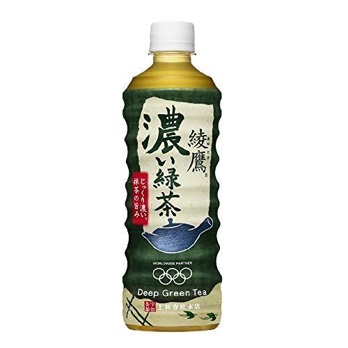 コカ・コーラ 綾鷹 濃い緑茶 PET 525ml ×24本