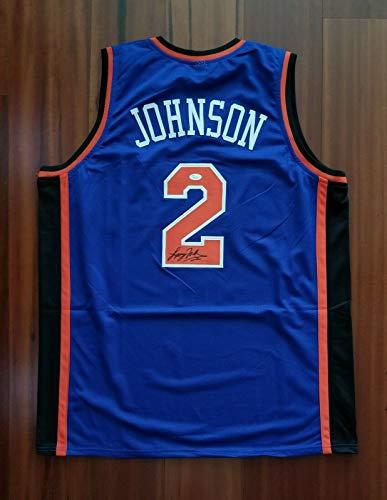 Larry Johnson Autographed Signed Jersey New York Knicks JSA