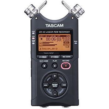 Tascam, 4 AD Converter, Black, DR-40 (DR-40)