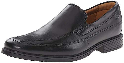Clarks Men's Tilden Free, Black Leather, 9 W