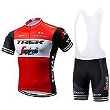 Le Cyclisme des Hommes Costumes Vêtements De Vélo à Manches Courtes + Cuissards...