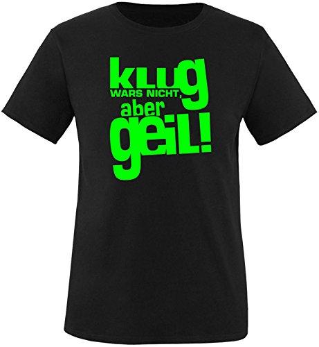 Luckja Klug war es Nicht Aber Geil Herren Rundhals T-Shirt