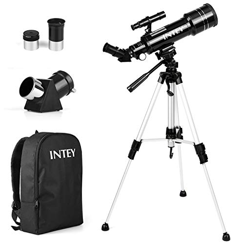 INTEY Astronomy Telescope, 70mm Refractor Telescope for Kids and Astronomy...
