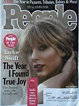 People Magazine (December 16, 2019) 2019 People of the Year Issue Taylor Swift Cover