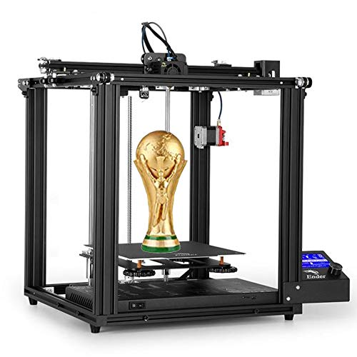 Creality Ender 5 Pro Creative FDM 3D Printer Upgrade Silent Mainboard Metal Extruder Frame with Capricorn Bowden PTFE Tubing for Hobbyists Home and School Users (Ender 5 Pro)