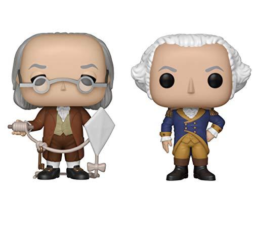Funko Icons: Pop! History Collectors Set - Benjamin Franklin, George Washington