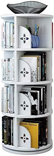 YZPTD Rotatation Boîte à bibliothèque Simple Simple Picture Livre Étagère Salon Salon Bibliothèque Accueil...