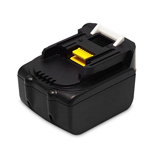 BL1440 - Batería de repuesto para Makita (14,4 V, 4,0 Ah/4000 mAh, BL1450 BL1415 BL1430)