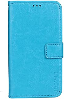 CASE BOX Vodafone Smart N10 Phone Case,Flip wallet with card slots cover for Vodafone Smart N10(SkyBlue)