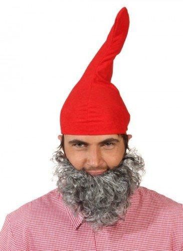 Mütze: Zipfelmütze, rot