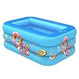 Piscina hinchable para niños, ideal para jugar en el agua.