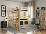 <span class='highlight'>Strictly</span> <span class='highlight'>Beds</span> <span class='highlight'>and</span> <span class='highlight'>Bunks</span> - Fusion Raised Twin Sleeper, 3ft Single