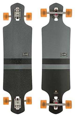 Globe Longboard Geminon 38.5, Charcoal/Black, One Size