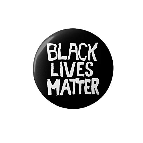 N/T Ich Kann Nicht Atmen George Floyd Black Lives Materie Pin 74mm Alu Button Badge
