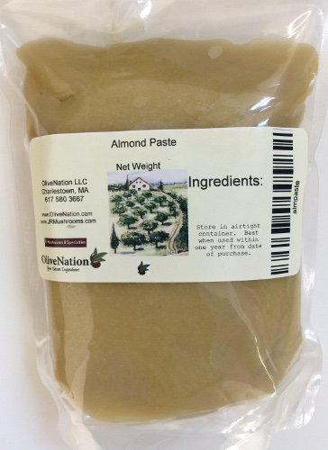 OliveNation Almond Paste, Sweetened Blanched Ground Almonds - 8 ounces