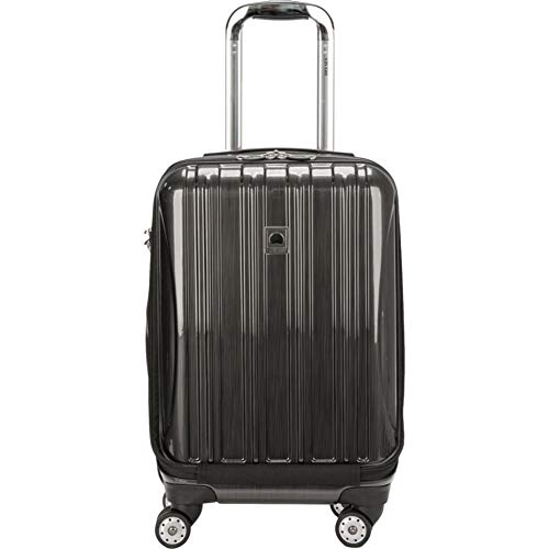 DELSEY Paris Helium Aero Hardside Expandable Luggage with Spinner Wheels, Brushed Charcoal, Carry-On 21 Inch