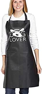 Dog Is Good Dog Lover Grooming Aprons - Distinctive Aprons for Professional and Amateur Dog Groomers, Black