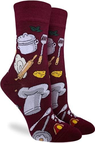 Good Luck Sock Women's Chef Socks, Adult