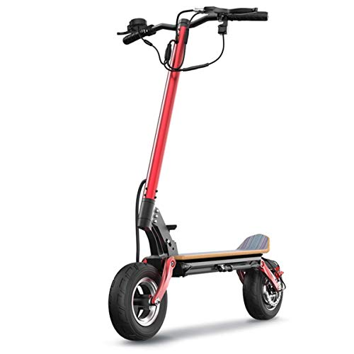 "Z-SEAT Scooter eléctrico, Scooter para Adultos Easy Carry Design 500W, neumático de 10""Lleno de Aire, Patinete eléctrico Plegable MAX Speed 30MPH"