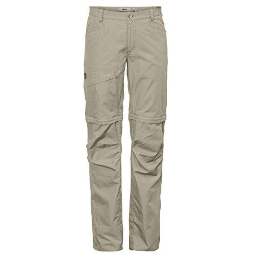 Fjallraven Damen Daloa Shade Zip-Off Trousers W Sport, Limestone, 36