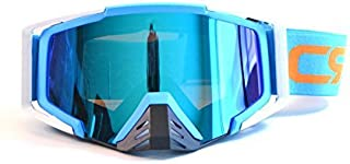 CRG Sports Motocross ATV Dirt Bike Off Road Racing Goggles T815-138 Series Blue