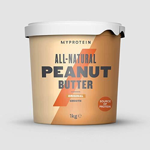 Myprotein All-Natural Burro di Arachidi - 1 kg