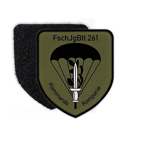 Copytec Patch FschJgBtl 261 Kommando Kompanie Bundeswehr Fallschirmjäger #25013