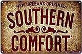 Tolles Vintage-Blechschild Newtin New Orleans Original